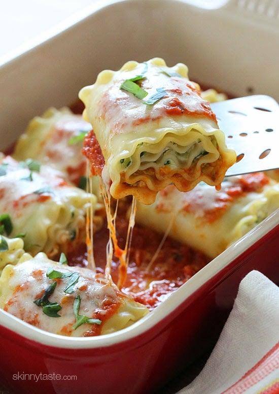 Three-Cheese-zucchini-stuffed-lasagna-rolls