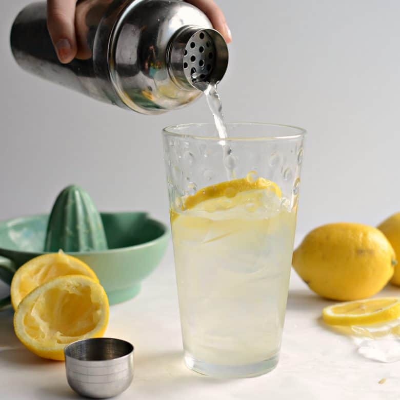 Made to Order Lemonade aka Fresh Lemon Shake-ups