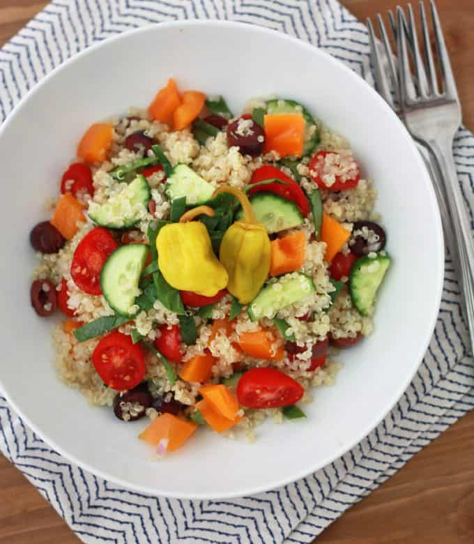 Think Greek Quinoa Salad