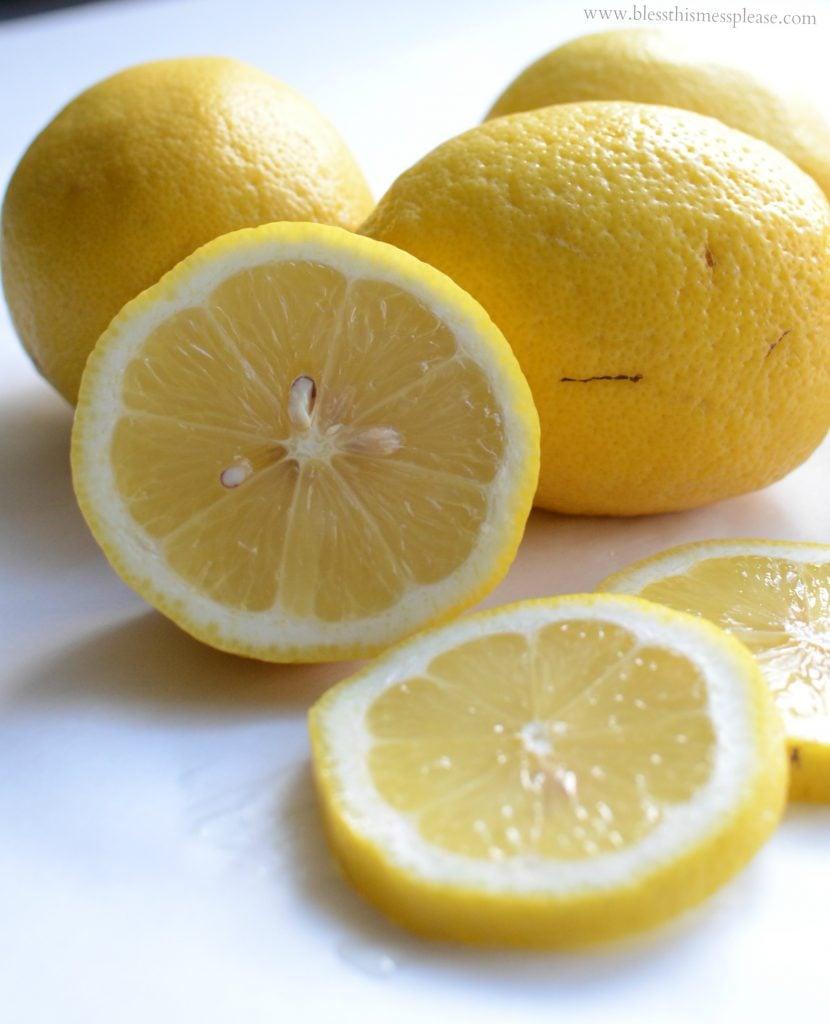 how to make homemade lemonade with fresh lemons