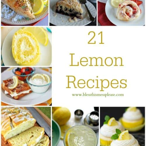 Lemon Recipe Roundup