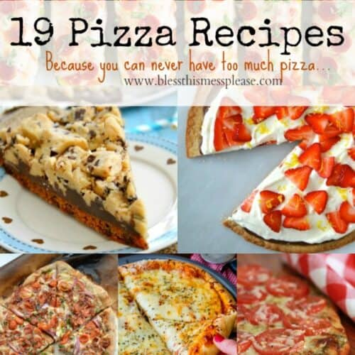 19 Pizza Recipes Worth Taking A Look At
