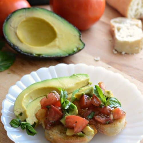 Avocado Bruschetta and Other Awesome Tailgating Recipes