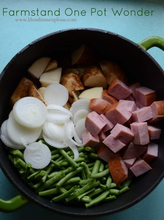 Easy One Pot Dinner Recipe