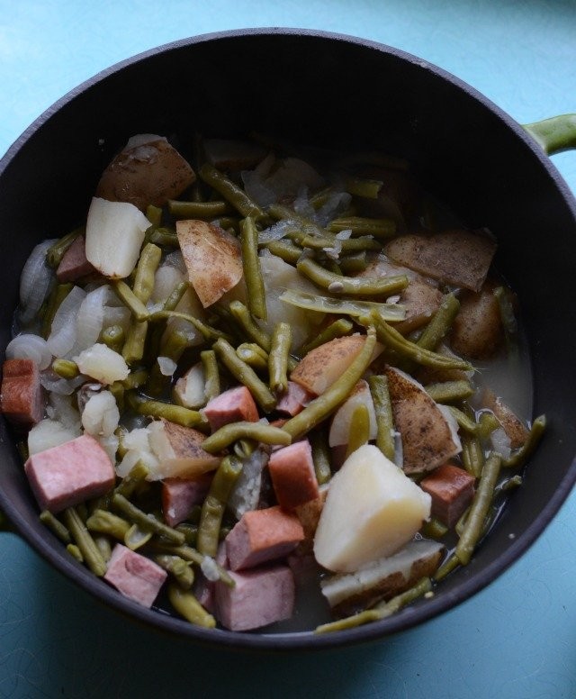 One Pot Ham Dinner Recipe