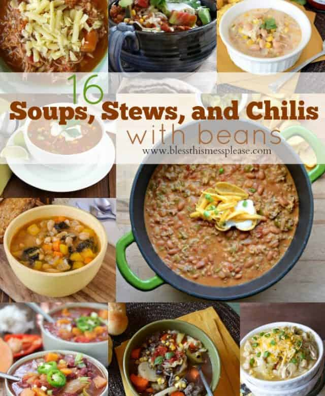 chili recipes with beans
