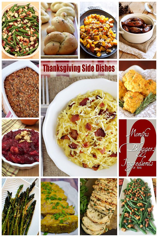 12 Thanksgiving Side Dishes!