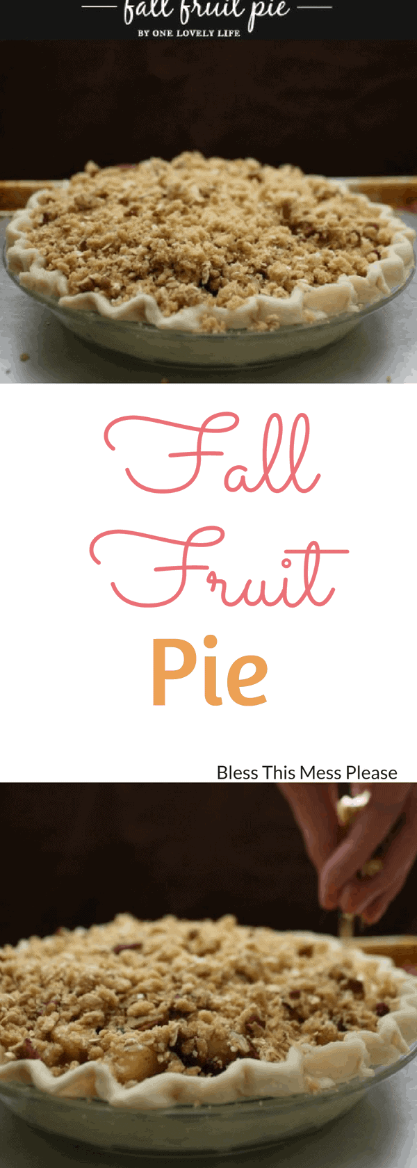 Fall Fruit Pie