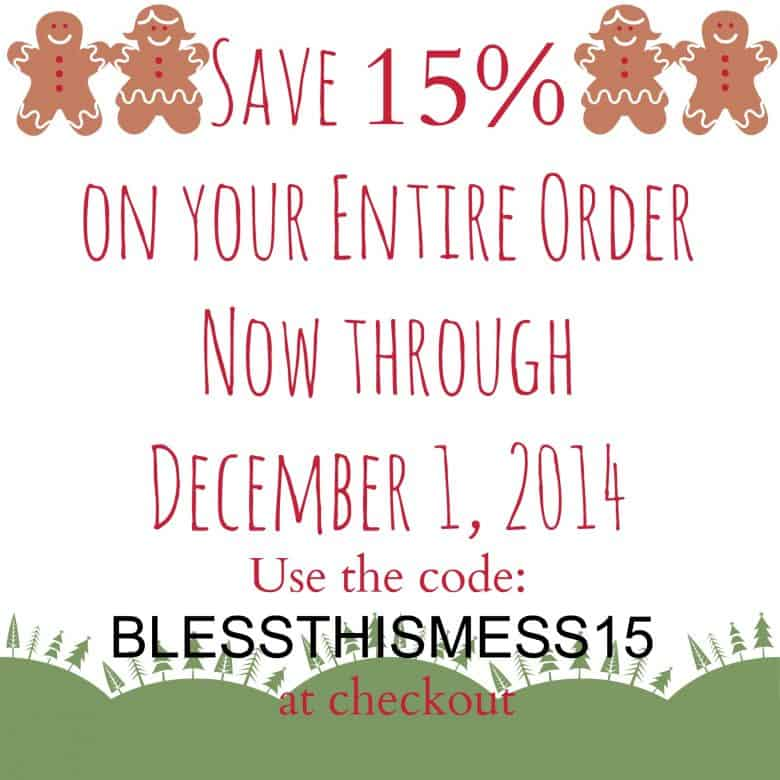 Black Friday/Cyber Monday Coupon for my Etsy Shop!