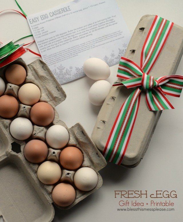 Fresh egg gift idea printable your homebased mom egg gift2 negle Gallery