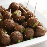Slow Cooker Honey Teriyaki Meatballs