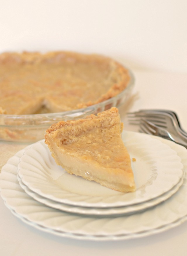 Sweet and simple Hoosier Sugar Cream Pie