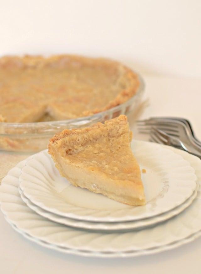 Hoosier Sugar Cream Pie - Bless This Mess
