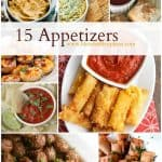 15 Appetizers fit for a party