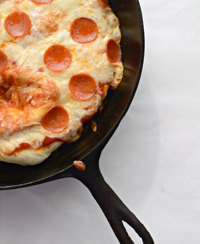 The one cookbook you should be asking Santa for this year + Easy Skillet Pizza