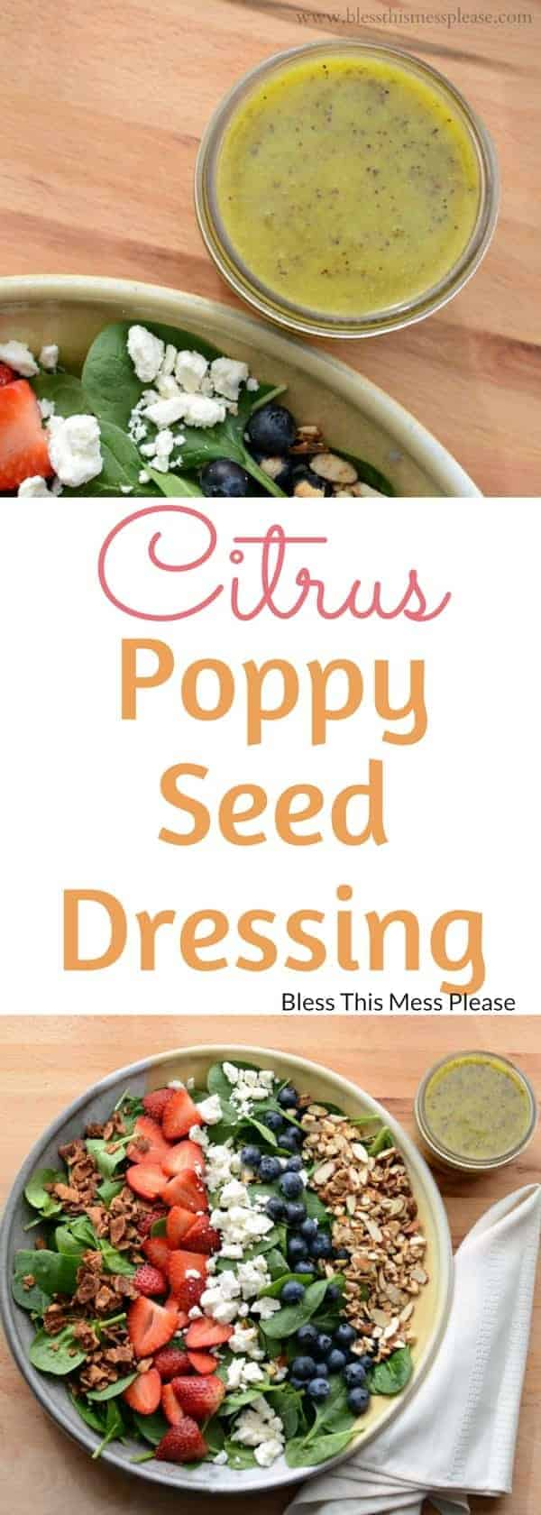 Citrus Salad With Poppy Seed Dressing Recipe — Dishmaps
