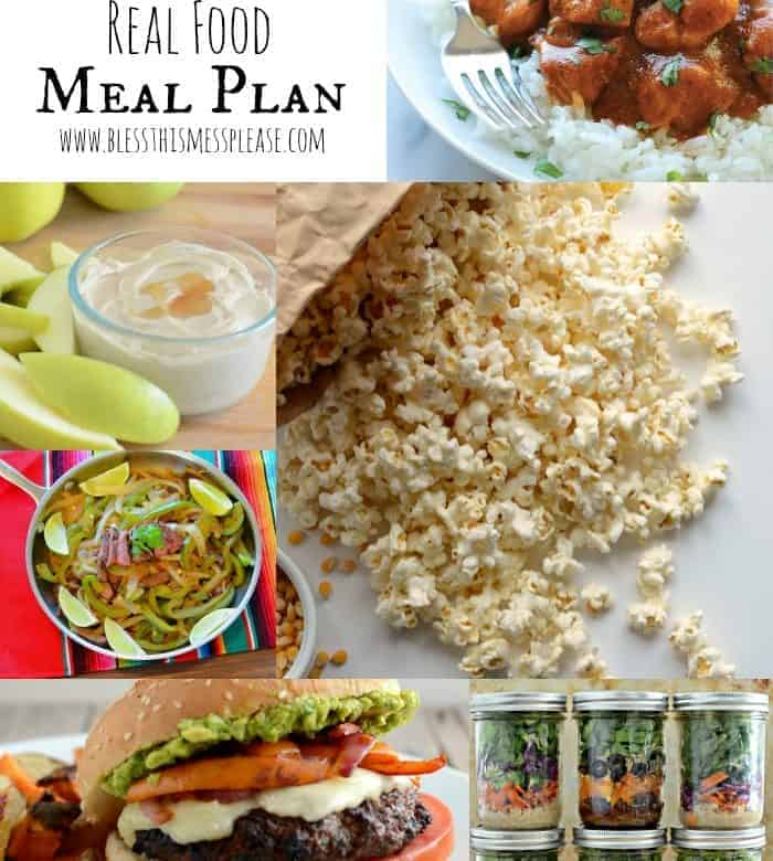Feel Great in 8 Health Challenge (starting Monday!) plus my meal plan for this week