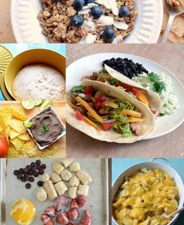 This week's meal plan + our 2014 family pictures