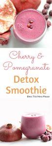 Pomegranate Detox Smoothie