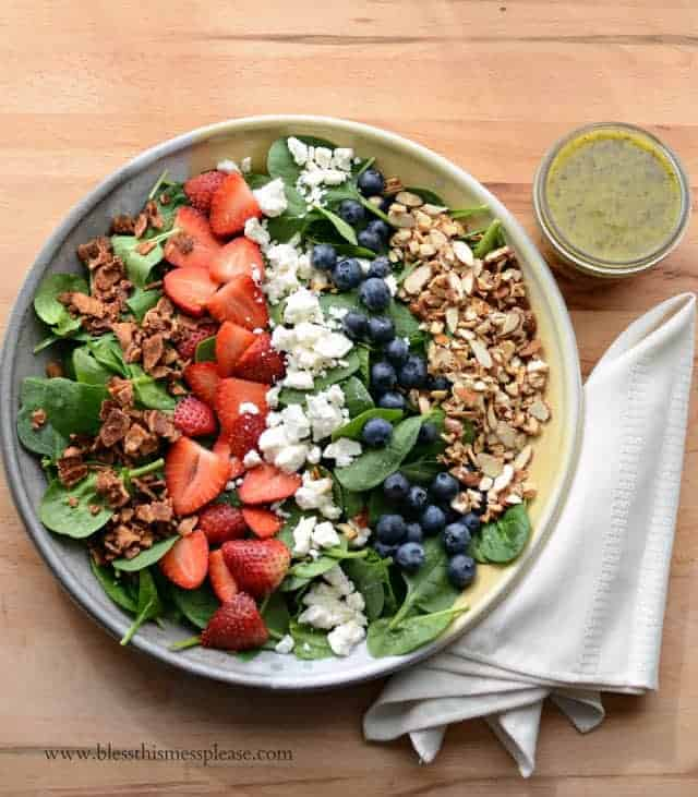 poppy seed dressing fresh citrus salad with homemade poppy seed ...