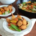30 Minute Stir Fry with Crispy Shrimp plus this Week's Meal Plan
