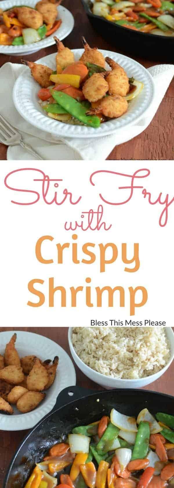 Crispy Shrimp Stir Fry