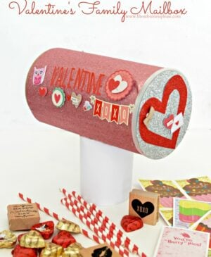 Valentine's mailbox for the whole family to enjoy