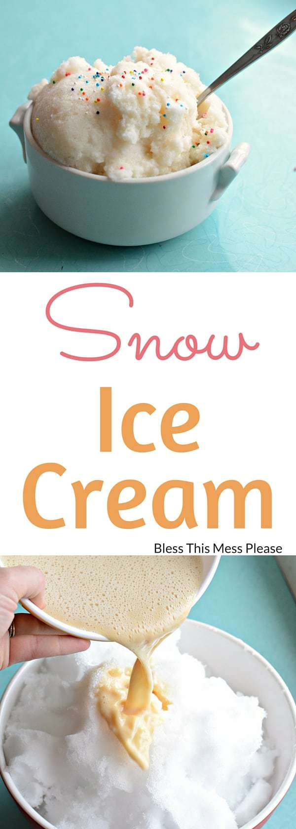 Quick easy snow ice cream recipe how to make ice cream with snow snow ice cream em quick ccuart Gallery