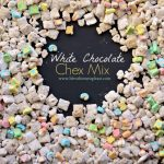 White Chocolate Chex Mix with Lucky Charms