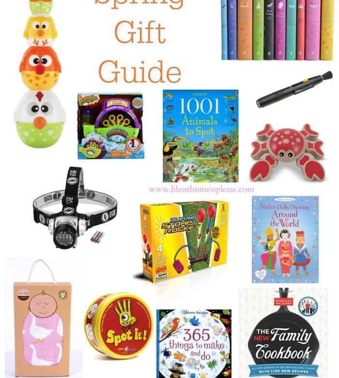 Spring Gift Guide (because we all need ideas of what to give!)