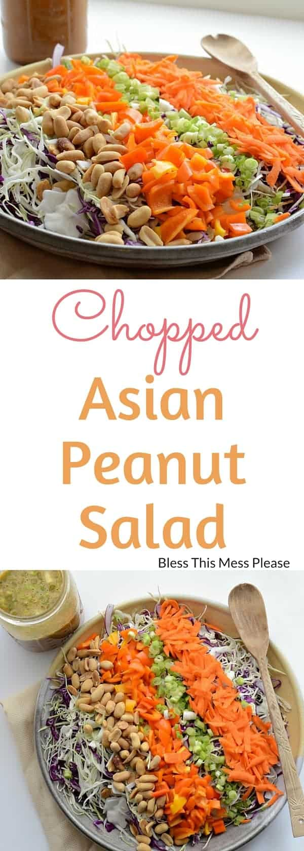 Chopped Asian Peanut Salad