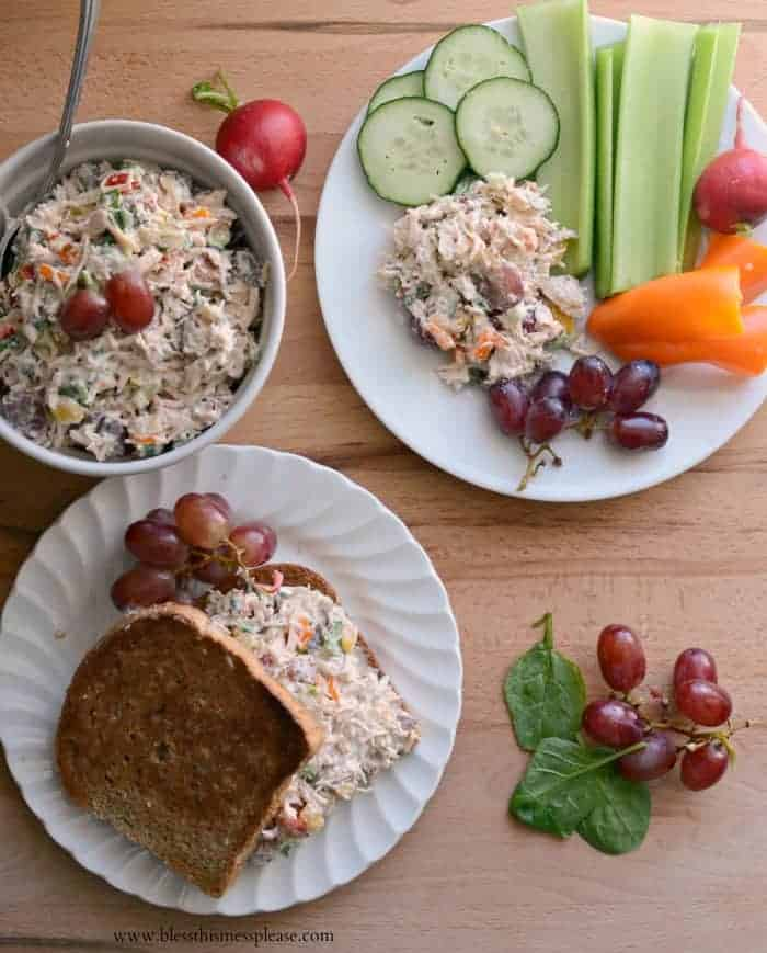 Quick and Easy Summer Chicken Salad