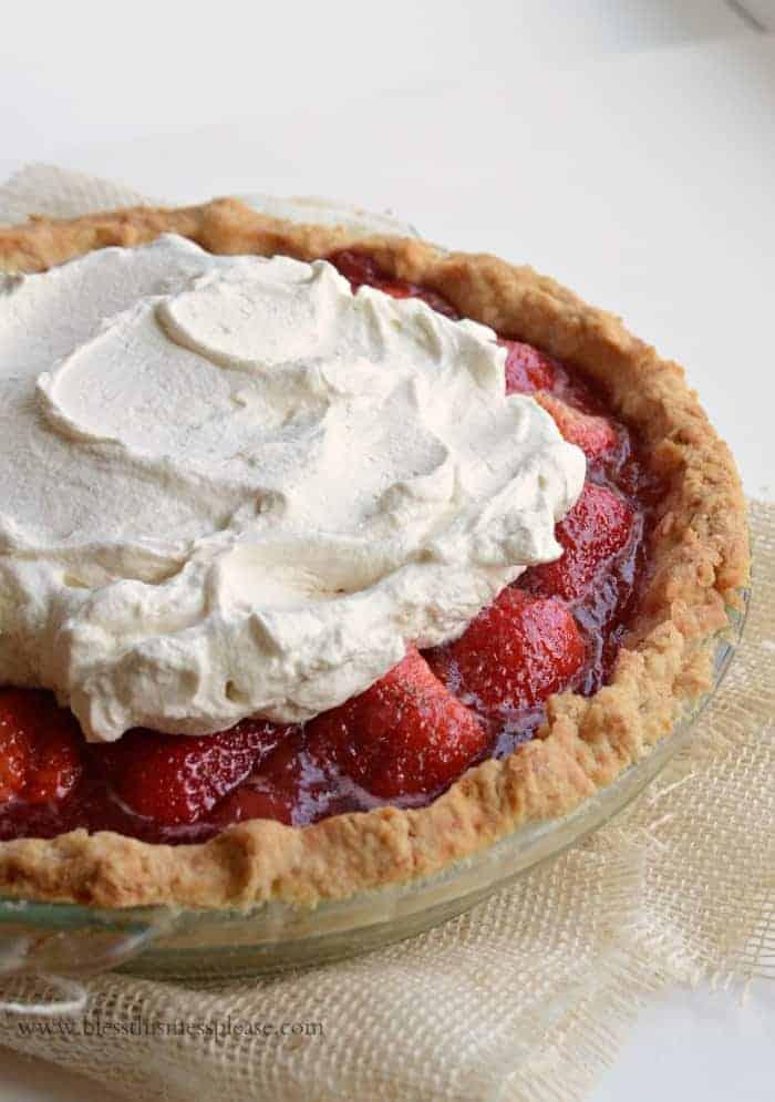 America's Test Kitchen's Fresh Strawberry Pie AKA spring's perfect dessert!