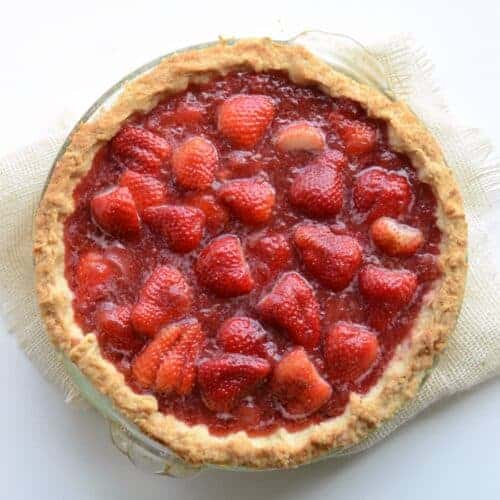 America's Test Kitchen's Fresh Strawberry Pie