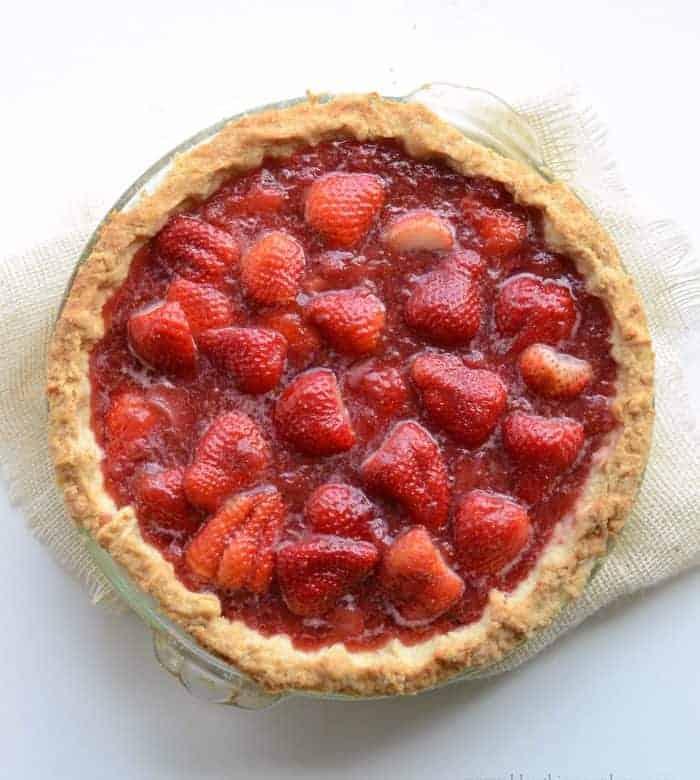 America's Test Kitchen's Fresh Strawberry Pie