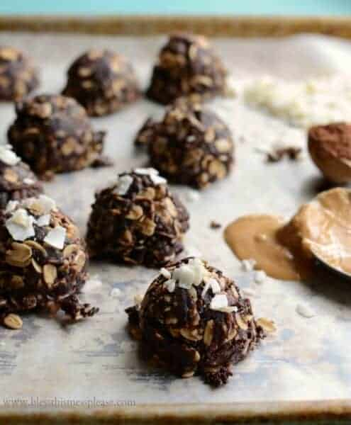 These no-bake chocolate coconut cookies will satisfy your sweet tooth & are kid approved too! Made with a winning combo of cocoa, coconut & peanut butter.