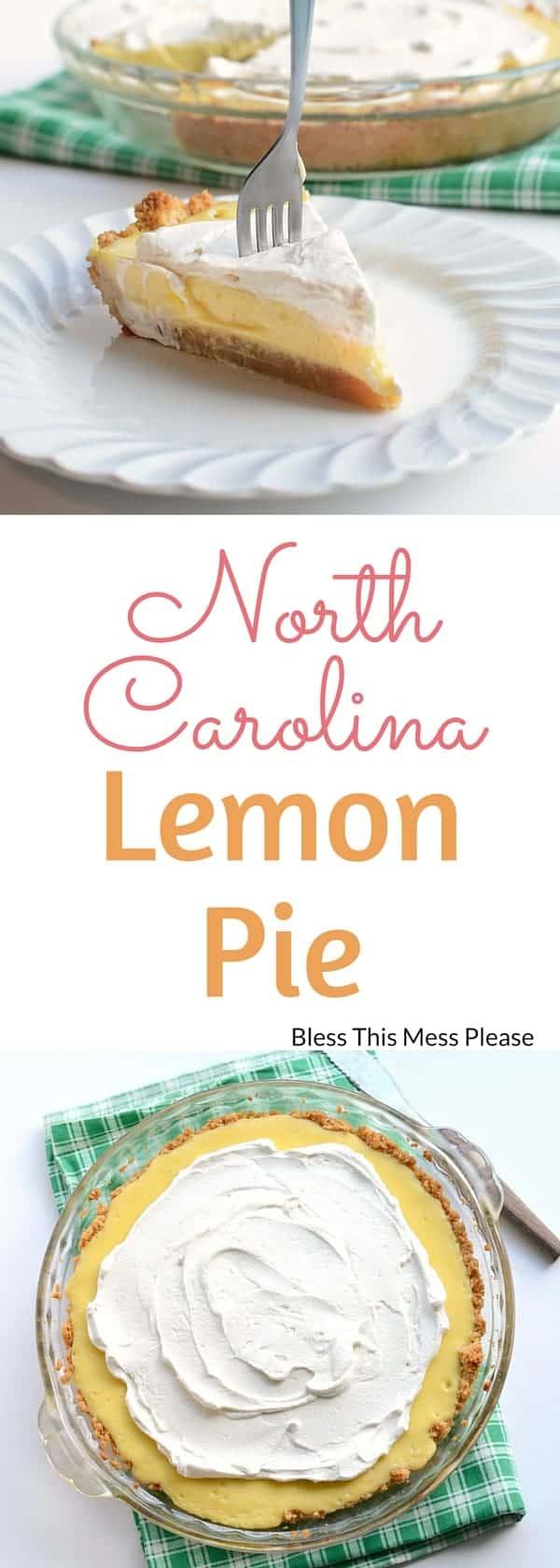 North Carolina Lemon Pie