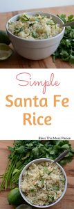 Simple Santa Fe Rice