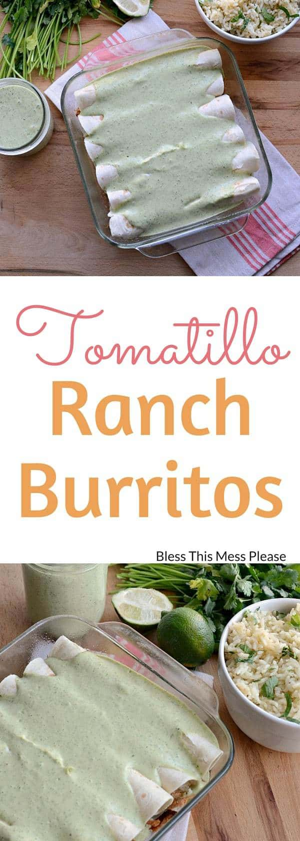 Tomatillo Ranch Burritos