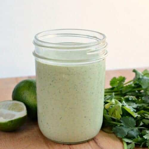 Cilantro Ranch Dressing for Everything