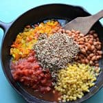 Healthy One Pot Quinoa Taco Casserole
