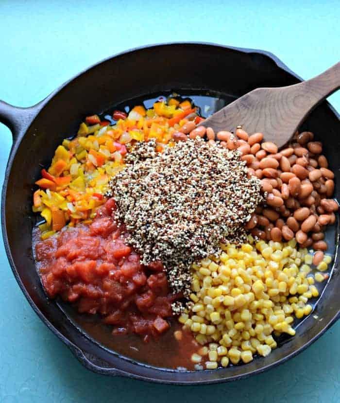 Healthy One Pot Quinoa Taco Casserole