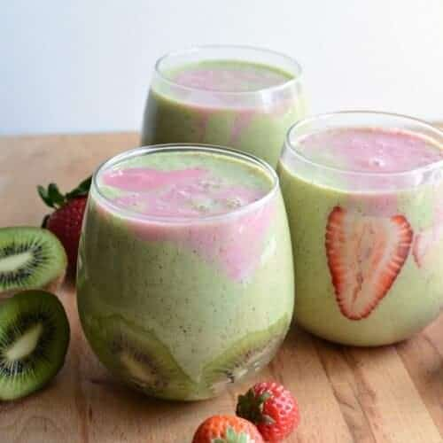 Healthy Strawberry Kiwi Smoothie