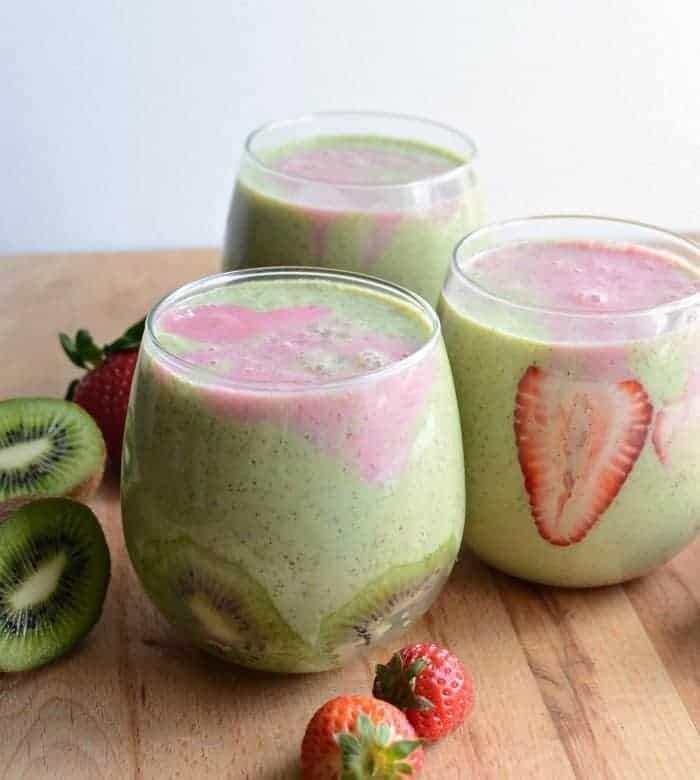 Healthy Strawberry Kiwi Smoothie