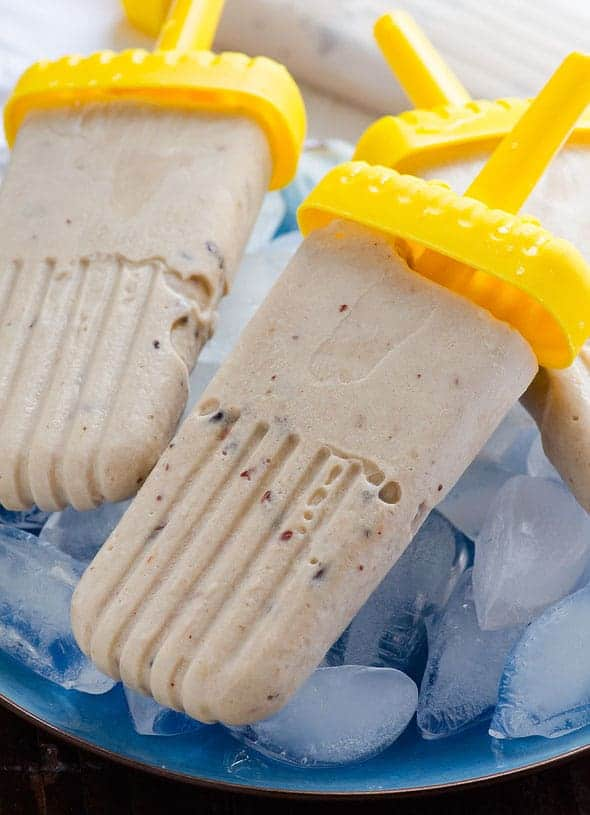 Image of Coconut Water and Berry Popsicles