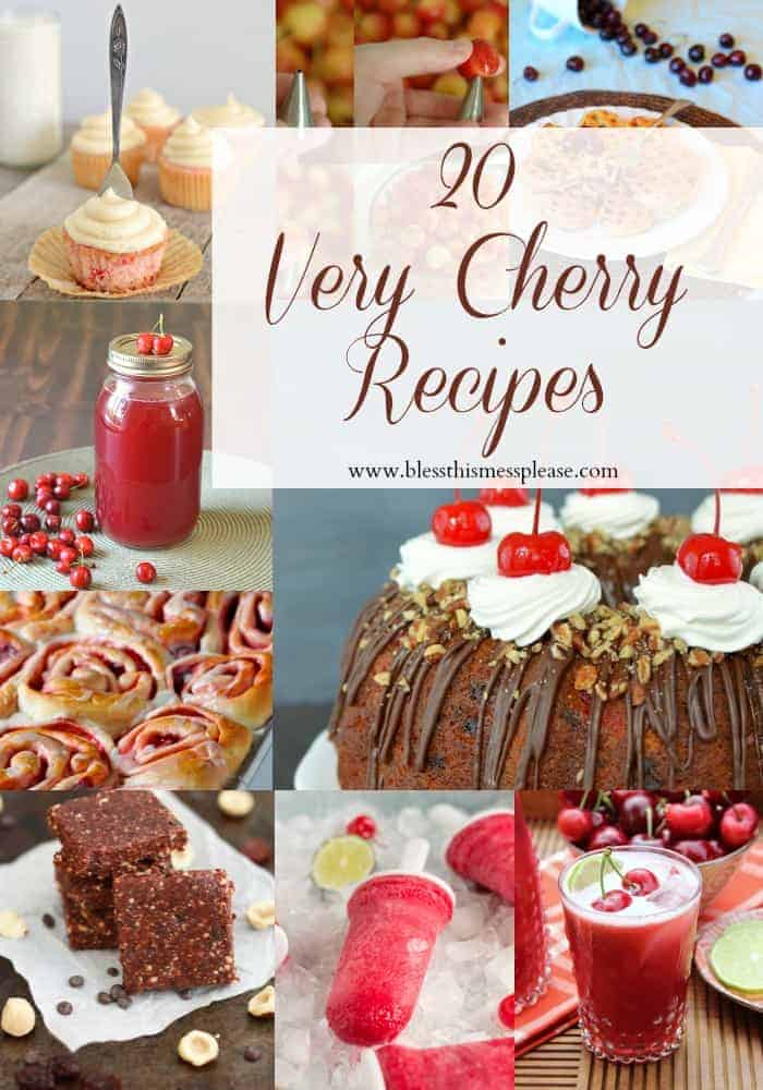 20 Very Cherry Recipes