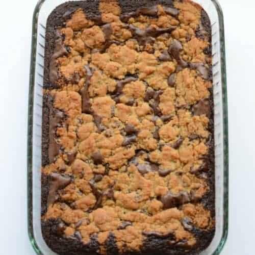 BEST Cheater Brookies (Chocolate Chip Cookies + Brownies)