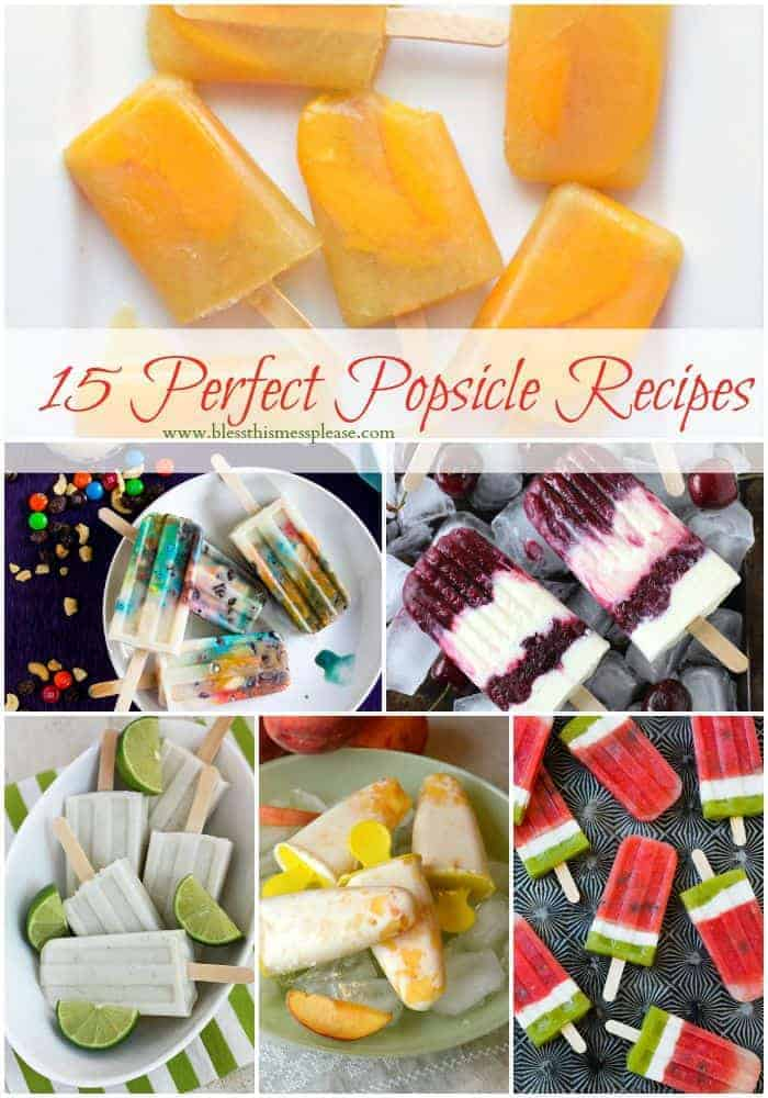 Title Image for 15 Perfect Popsicle Recipes
