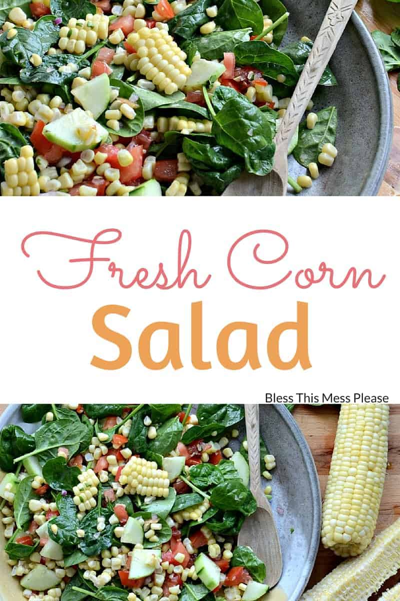 Fresh Corn Salad