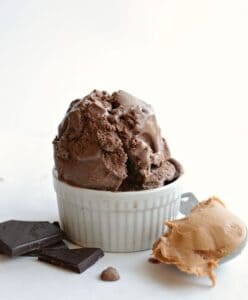 Image of Chocolate Peanut Butter Ice Cream